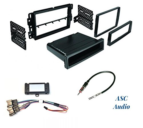 Amazon.com: Premium Car Stereo Dash Kit, Wire Harness Chime ... on aftermarket stereo adapter box, aftermarket radio with navigation, 2012 dodge ram radio harness, aftermarket radio connectors, jvc radio harness, stereo harness, aftermarket stereo color codes, aftermarket engine harness, aftermarket radio antenna, aftermarket wire harness,