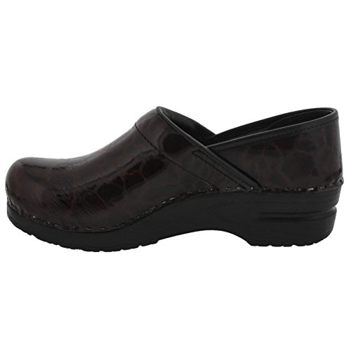 Sanita Womens Original Professional Cleo Limited Edition Clogs Brown