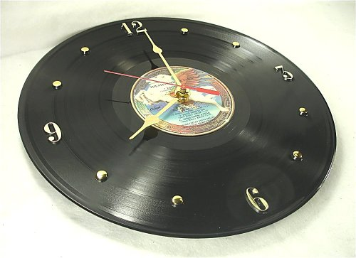"IT'S OUR EARTH STEVE MILLER Recycled Vinyl Record Clock - ""Book Of Dreams"" (1977)"