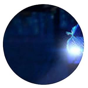 alfombrilla de ratón Coche de deportes en la noche en la ciudad - ronda - 20cm