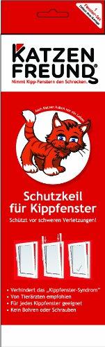 Katzenfreund Schutzkeil für Kippfenster