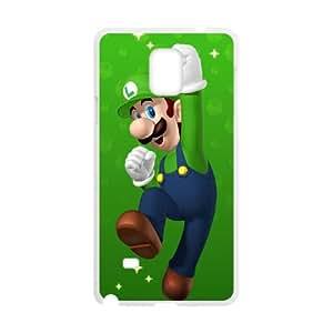 Samsung Galaxy Note 4 Cell Phone Case White Super Mario Bros Vqxz
