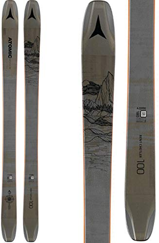 Atomic Bent Chetler 100 Skis Dark Grey/Black Mens Sz 188cm