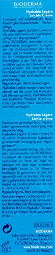 Bioderma Hydrabio Light Cream, 1.35 fl oz