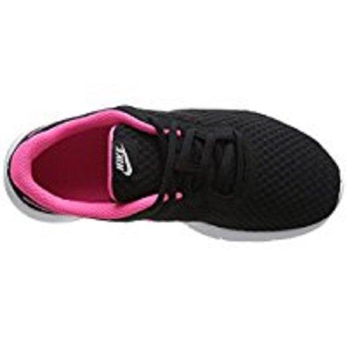 NIKE Kids Tanjun (GS) Black/Hyper Pink White Running Shoe 4 Kids US by Nike (Image #7)