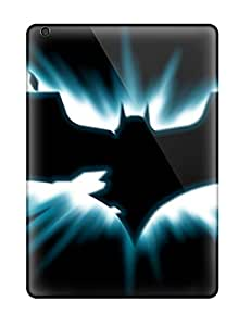 Hard Plastic Ipad Air Cases Back Covers,hot Dark Knight Logo Cases At Perfect Customized
