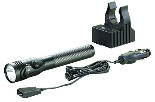 Streamlight 75432 Stinger LED High Lumen Rechargeable Flashlight with 12-Volt DC Charger - 800 Lumens (Equipment Flashlight Police)