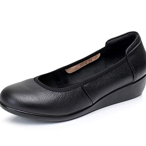 fashion flat pregnant work soft 39 leather bottom shoes shoes women comfortable EU shoes casual Ladies FLYRCX EqzAxwBHM