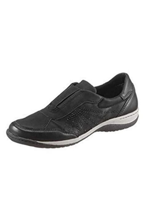 Mocasines Mujer de Hush Puppies en Negro - Negro, 36 EU: Amazon.es: Zapatos y complementos