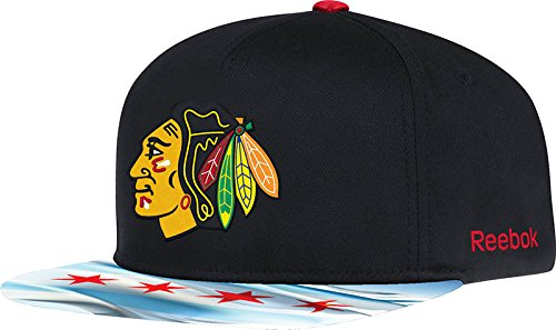 0d23014fa7def2 ... discount chicago blackhawks chicago flag visor snapback reebok official nhl  hat buy online in oman.