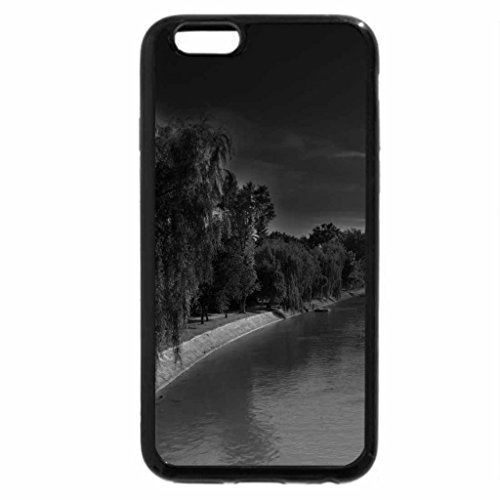 iPhone 6S Case, iPhone 6 Case (Black & White) - the bega river in serbia