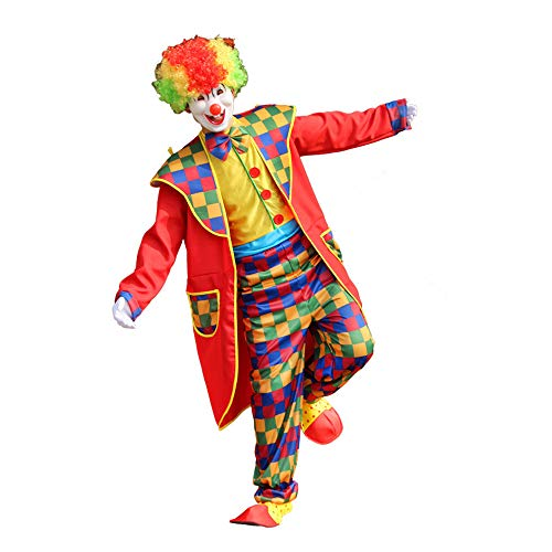 Costumes for Men Women,Halloween Men's Clown On The Town Costume Outfit Fancy Party Cosplay -