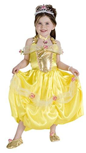 Rubie's Costume Golden Princess Costume, One Color, (Costumes Rental Long Island)