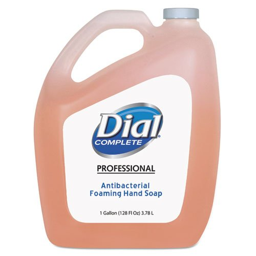 Dial Professional Antimicrobial Foaming Hand Soap, Refill, 1 Gallon - Includes four per case.