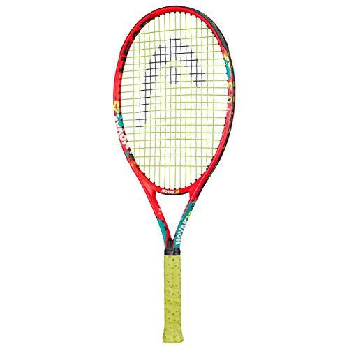 Head Novak 25 Raqueta de Tenis, Juventud Unisex, Multicolor, 8-10 años a buen precio