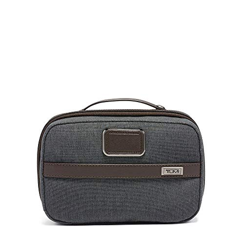 (TUMI - Alpha 3 Split Travel Kit - Luggage Accessories Toiletry Bag for Men and Women - Anthracite)