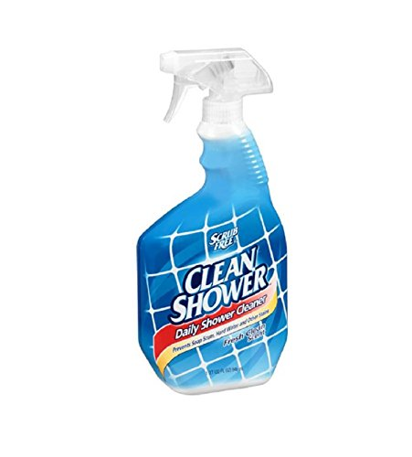 Shower Cleaner (Scrub Free Clean Shower daily shower cleaner pack of  2)