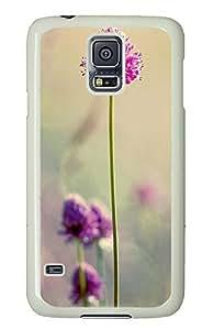 Samsung Galaxy S5 Beautiful Clover PC Custom Samsung Galaxy S5 Case Cover White