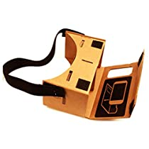 LOVELYIVA New Google Cardboard Valencia Quality VR 3D Virtual Reality Viewing Glasses