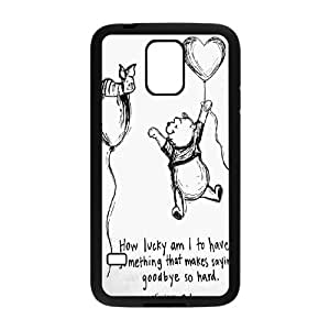 Winnie the pooh,cartoon winnie, winnie and tiger series protective case cover For Samsung Galaxy S5 LHSB9288206