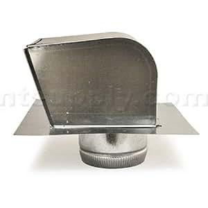 """American Aldes 10"""" Galvanized Steel Roof Cap"""