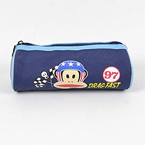 Paul Frank-Estuche escolar redondo, color azul: Amazon.es ...