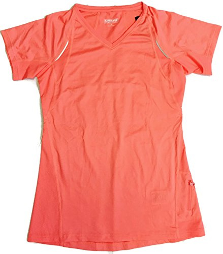 Kirkland Signature Mens Peach V-Neck T-Shirt Size Small