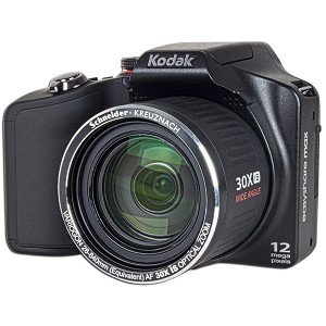 Kodak EasyShare MAX Z990 12MP 30x Optical/5x Digital Zoom HD Camera w/HDMI (Black) - One Touch Sharing!