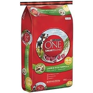 Amazon.com: Purina ONE Smartblend Dog Food, Lamb & Rice