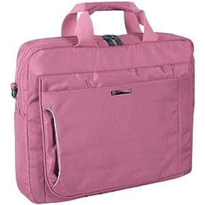 "Keyteck BAG-7736P 15.6"" Maletín Rosa maletines para portátil - Funda (39,6 cm (15.6""), Maletín, Rosa, Monótono, 600 g)"