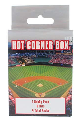 MLB Baseball Sports Cards: Hot Corner Box Including 1 Hobby Pack, 2 Hits, 4 Random Pack