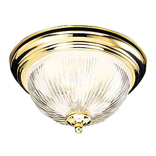 Design House Ceiling Mount - Design House 503045 Millbridge 2 Light Ceiling Light, Polished Brass