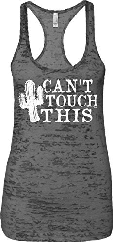 Blittzen Ladies Tank Can't Touch This - Cactus,