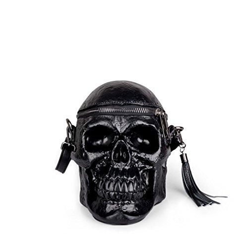 à sac bandoulière Sac noir en à silicone Sac Black féminin bandoulière drôle TCTZ0q7w