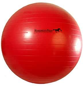 Horsemen's Pride 25-Inch Mega Ball for Horses, Red