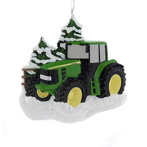 John Deere Tractor Wood Ornaments : Farm ornaments amazon