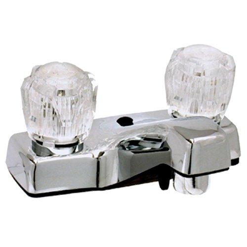 RV Trailer Camper 2-Handle 4 Lavatory Faucet Chrome PHOENIX P4032A-I