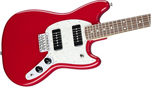 Fender 144040558 Mustang 90 Short Tcale Offset Electric Guitar - Rosewood Fingerboard - Torino Red