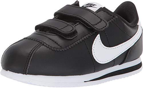 Nike Kids Baby Boy's Cortez Basic SL (Infant/Toddler) Black/White 7 M US Toddler (Nike Boys Infant Shoes)