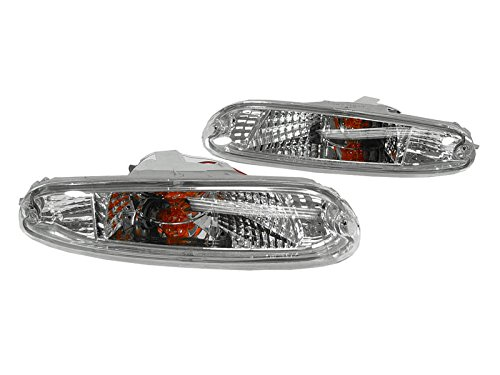 DEPO 1990-1997 Mazda MX5 Miata Clear Bumper Signal Lights. ()
