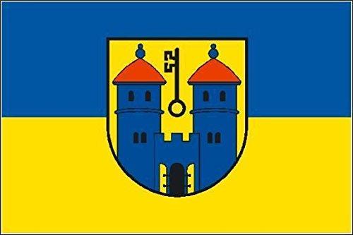 U24 Fahne Flagge Haldensleben Stiefelflagge Premiumqualität 120 x 180 cm