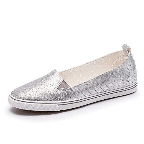 Richard Nguyen New Slipony Women Hole Shoes Breathable Soft Women Flats Flats Women Slip On Ladies Sneakers B07H5FJNT6 Shoes e93d5e