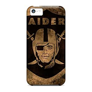 Fashionable VgN4418twHp Iphone 5c Cases Covers For Oakland Raiders Protective Cases