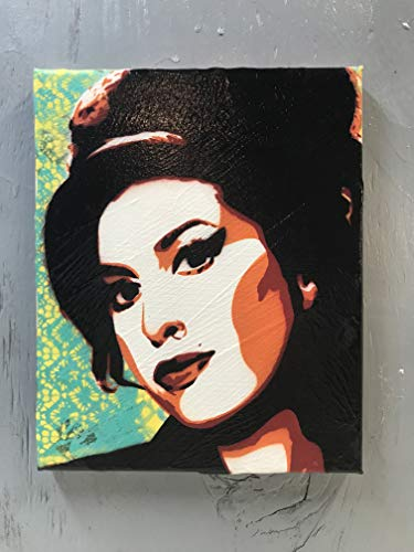 Amy Winehouse Painting - 8