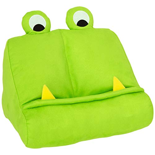 Thinking Gifts Monster Book and Tablet Reading Stand, Green