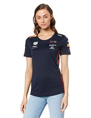 Aston Martin Red Bull Racing F1 Womens Team T-Shirt 2019 S Blue ()
