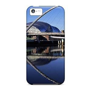 XiFu*MeiMycase88 iphone 6 plua 5.5 inch Well-designed Hard Cases Covers Millennium Bridge Widescreen England ProtectorXiFu*Mei