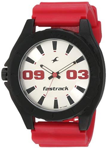 Fastrack OTS Sports Analog White Dial Men's Watch   NG9462AP02AC / NG9462AP02AC