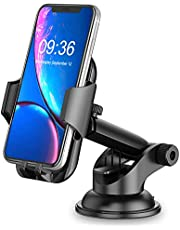 Car Phone Holder, Cocod-a 360° Rotate Long Arm Strong Sticky Cell Phone Holder Car Dashboard & Windshield, Car Phone Mount compatible with iPhone 12 Pro/11 Pro Max/XS Max/XR, Samsung Galaxy S20/Note 10