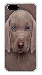 For SamSung Galaxy S6 Phone Case Cover Weimaraner Puppy PC Hard Plastic For SamSung Galaxy S6 Phone Case Cover Whtie